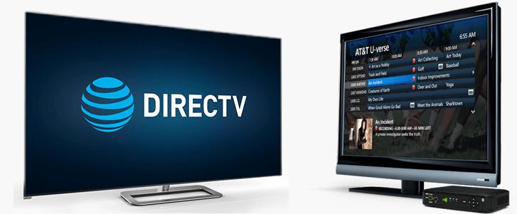 AT&T U-verse TV vs. DIRECTV
